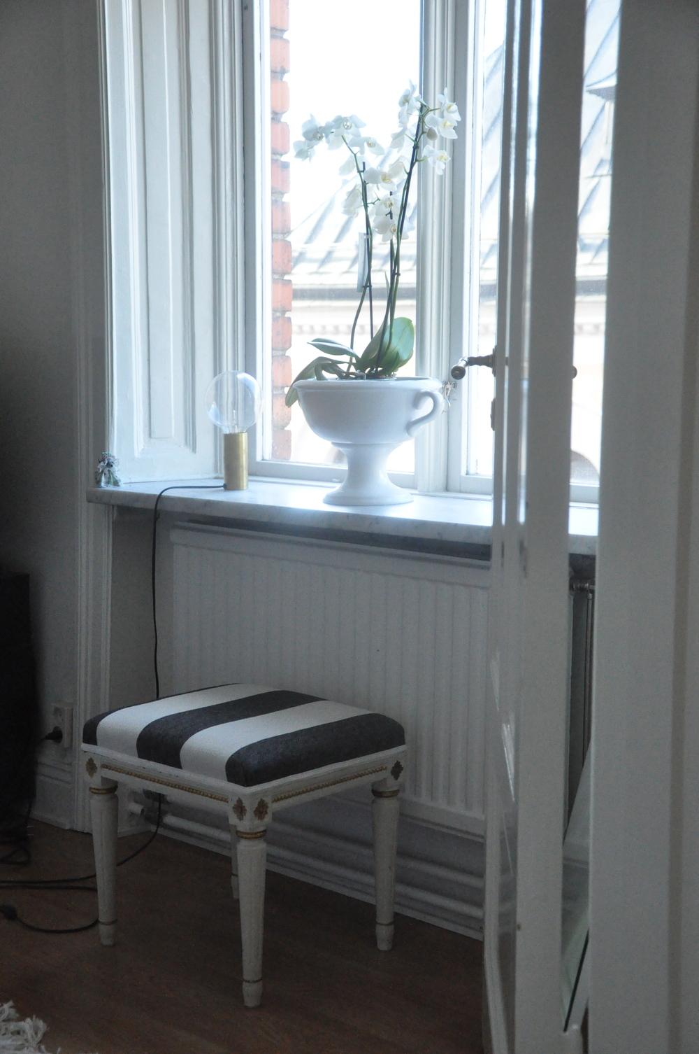 Bild från vårt gästrum   Foto:  Palatsliv