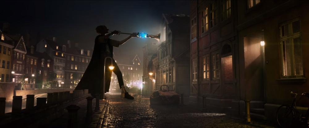 BFG 3D VFX Street Scene Bricks and Buildings