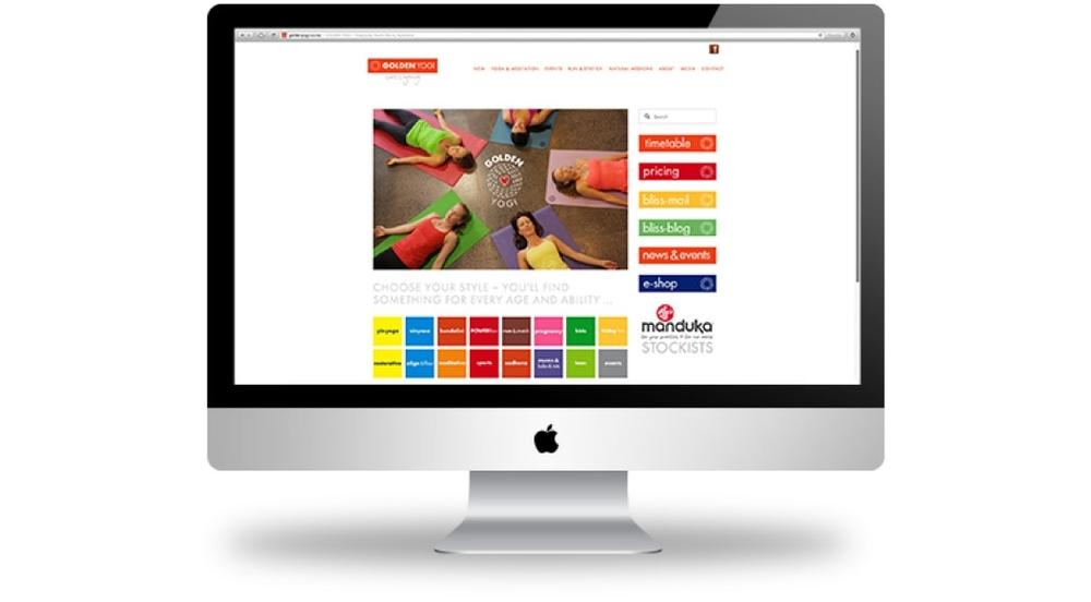 Website design built in squarespace wellington new zealand