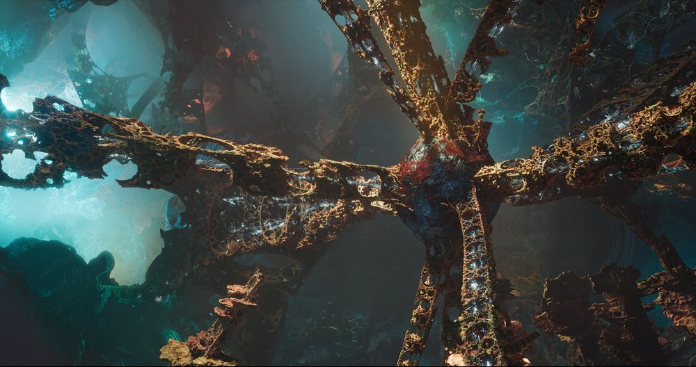Guardians of the Galaxy 2_How did they make the Mandlebrot fractals