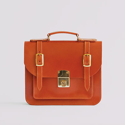 Belgrave Crescent - The Kensington Satchel in Sedgwick's Light Havana