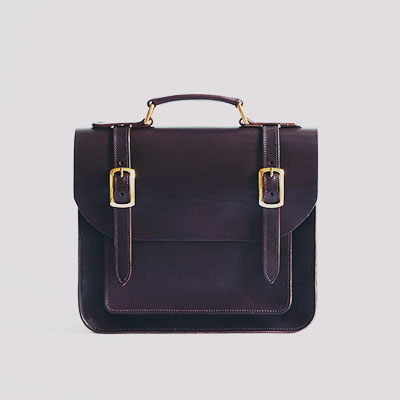 Belgrave Crescent | The Balmoral Satchel in Chestnut