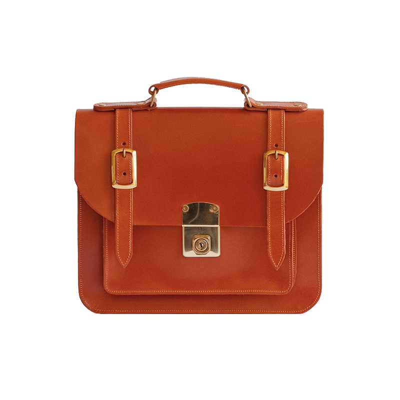 Belgrave Crescent | The Kensington Satchel in Light Havana