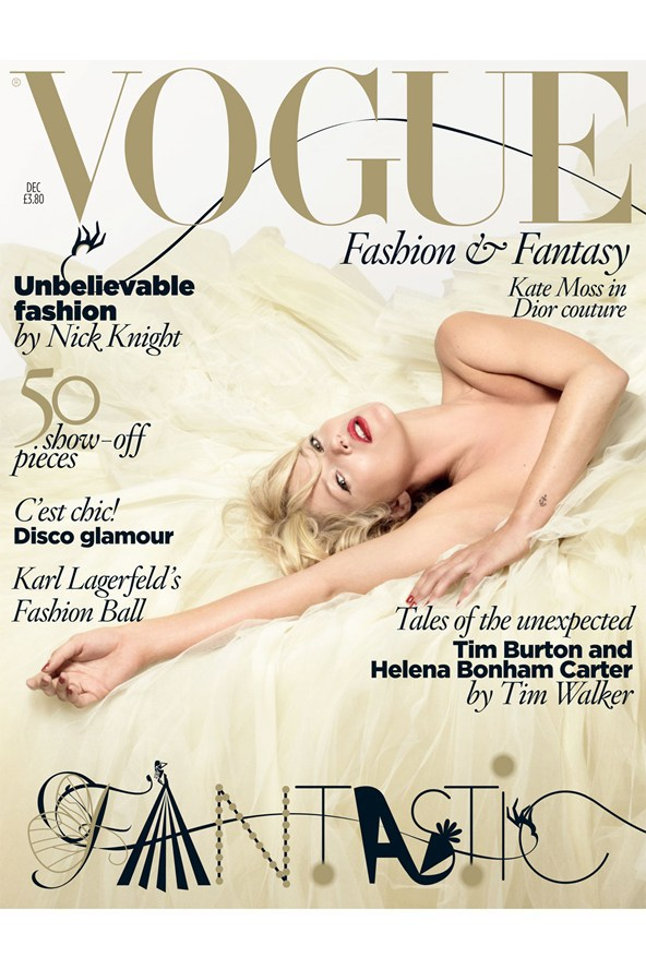 Vogue Cover, December 2008 | Photography by Nick Knight