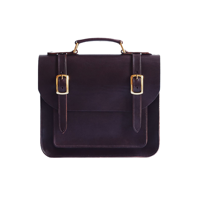 Belgrave Crescent Balmoral Satchel in Chestnut