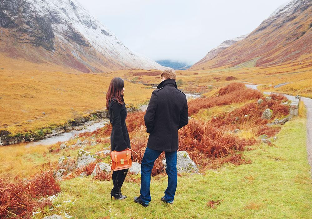 Paul & Roséline for Belgrave Crescent, Glen Etive, The Scottish Highlands