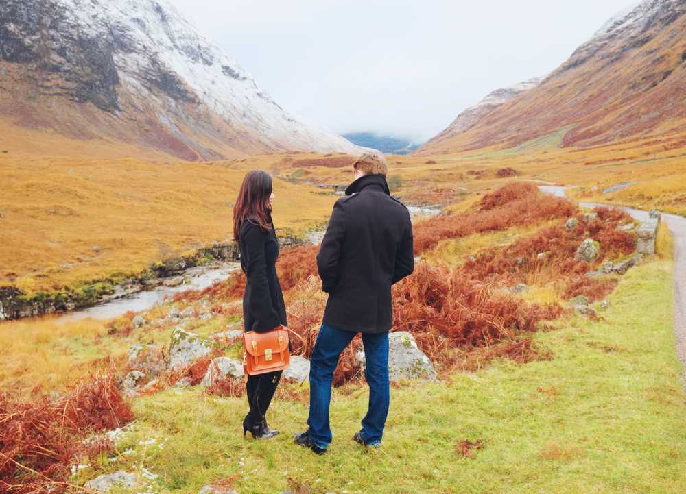 Paul & Roséline for Belgrave Crescent, Glen Etive, The Scottish Highlands