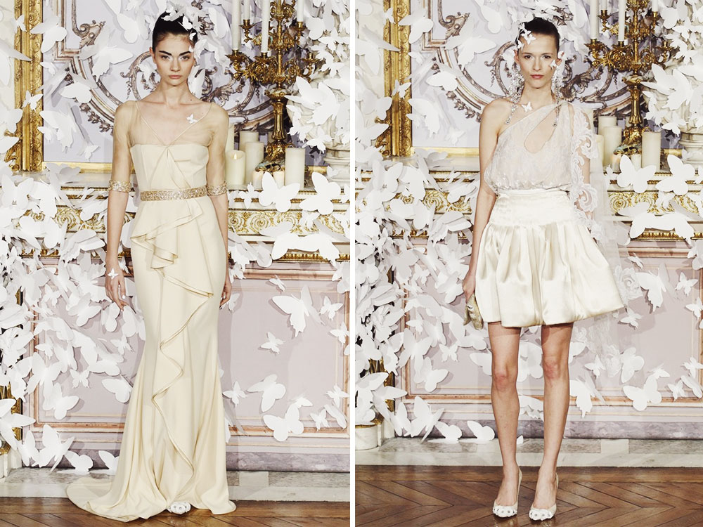 ALEXIS MABILLE SPRING/SUMMER 2014 COUTURE