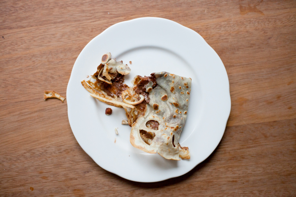 recipe : nutella crepes