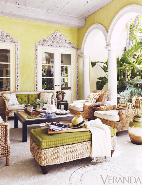 Décor Inspiration: A Palm Beach Villa