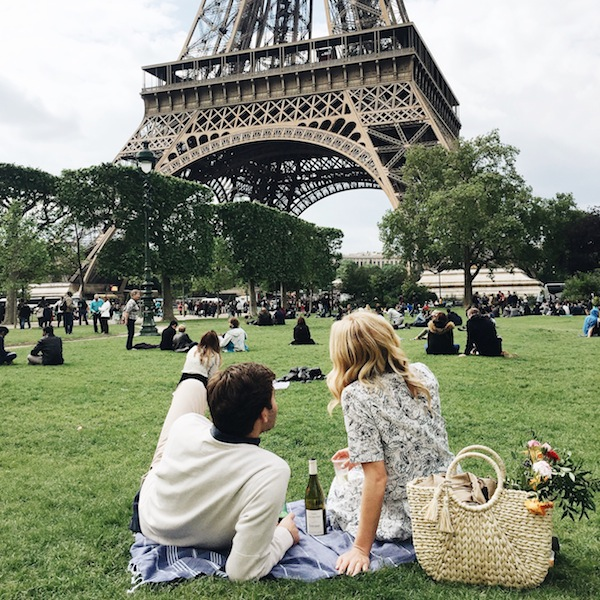 One of our favourite things is discovering perfectly captured travel photos, and these shots by Lauren Wells convey the nostalgia of a spring picnic in Paris beautifully. From the faded colours and overcast skies to the print of her dress and wicker basket, these photographs hold forever in time the memories of that May . . .