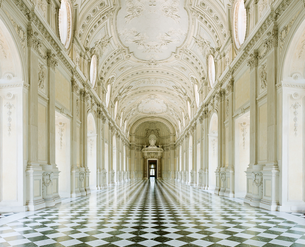 Recently, the work of Canadian photographer David Burdeny was  featured at  This Is Glamorous  , more specifically, his  photographs of Italy . Here, we explore more of his beautiful work, which includes a few extra (wonderfully colourful) photographs from Cuba . . .  Above, Palazzo R, Torino, Italy, 2012