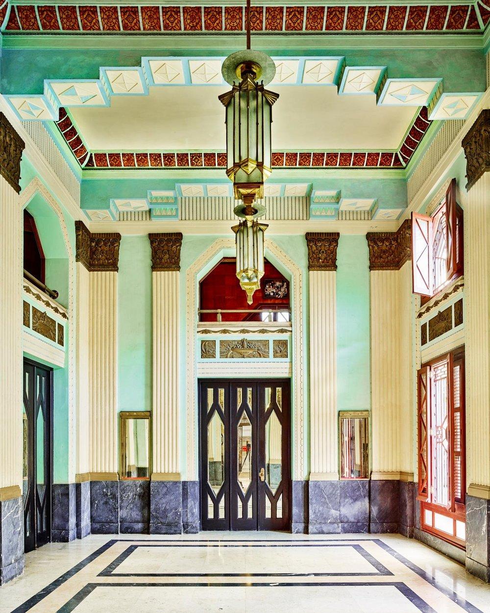 Art Deco Lobby, Havana, Cuba, 2014