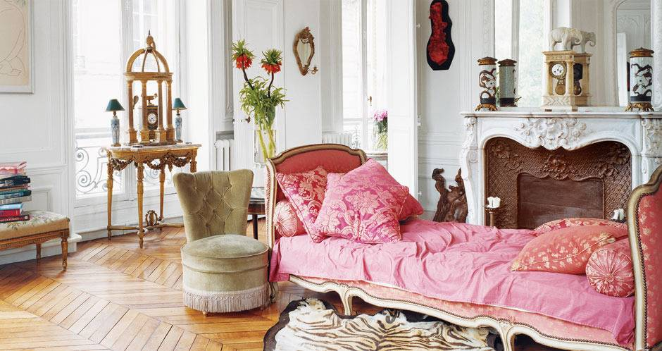Interiors Redux   At Home With: Erin Fetherston, Paris, 2002 ...