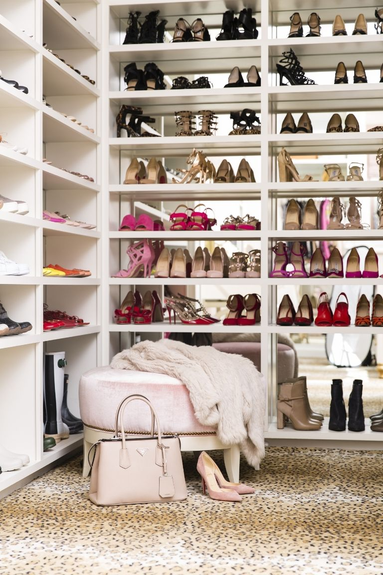 Décor Inspiration: A Perfectly Pretty Walk-In Closet