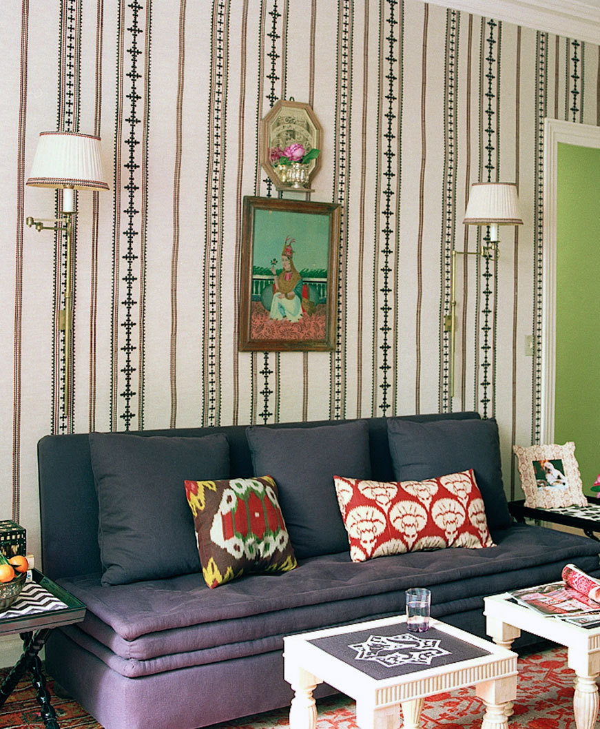At Home With: Textile Designer Lisa Fine