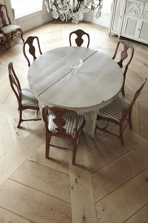 Décor Inspiration: Warm Wood at Home via The Hudson Company