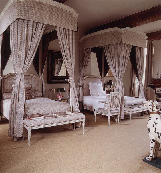 Interiors Redux: Château du Jonchet, Hubert de Givenchy's Countryside Manor