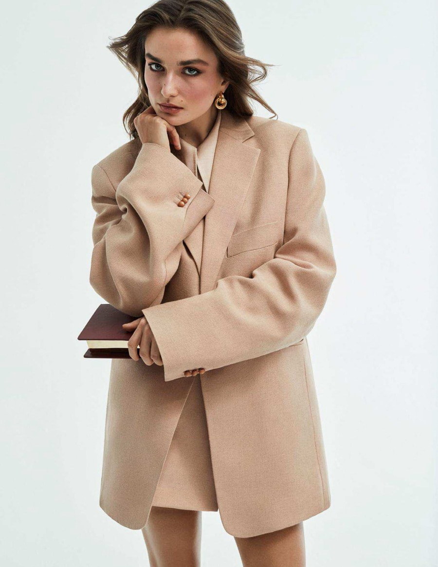 Photographer: Alique  Fashion Stylist: Julie Pelipas  Hair: James Rowe Make Up: Maud Laceppe Model: Andreea Diaconu
