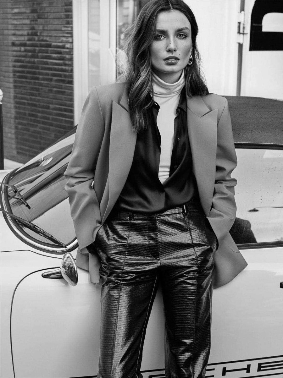 Editorial: Andrea Diaconu by Alique for Vogue Paris April 2018