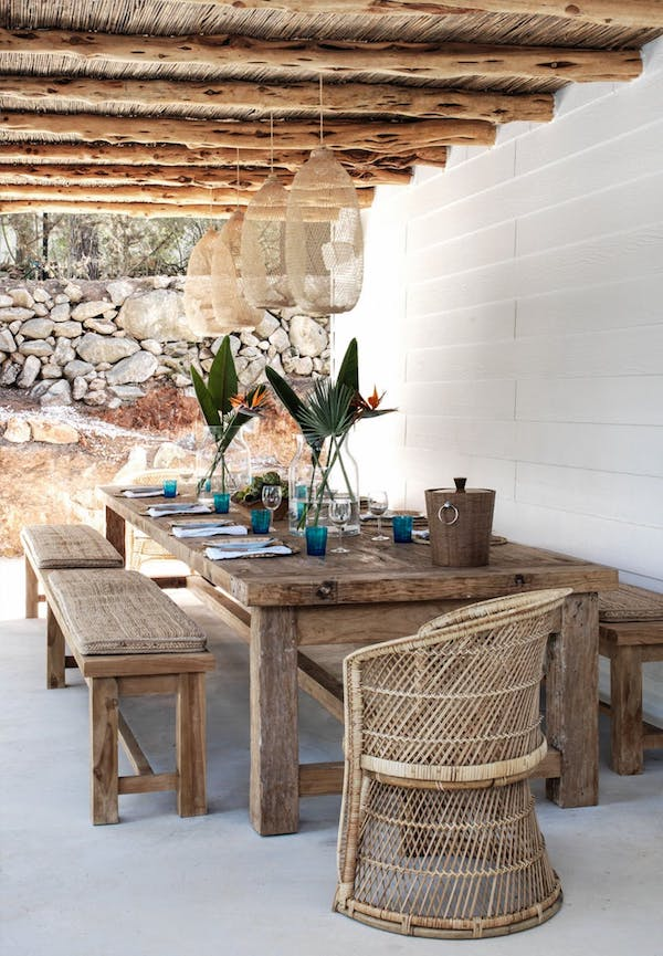 Décor Inspiration: A 70's-Style Summer Home in Ibiza, Spain