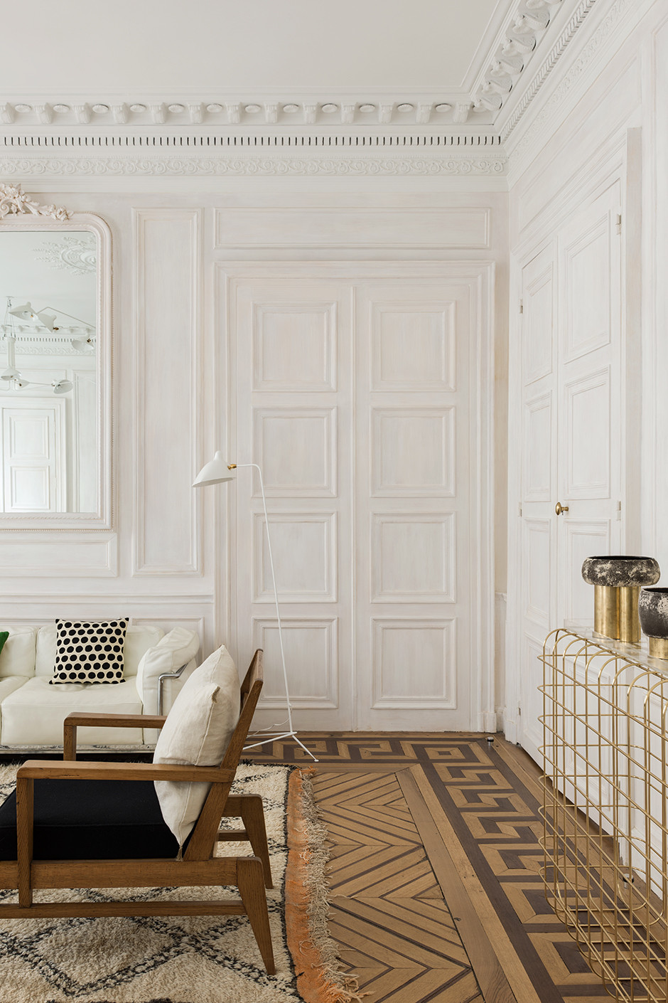 Décor Inspiration: A Paris Apartment Designed by Alireza Razavi