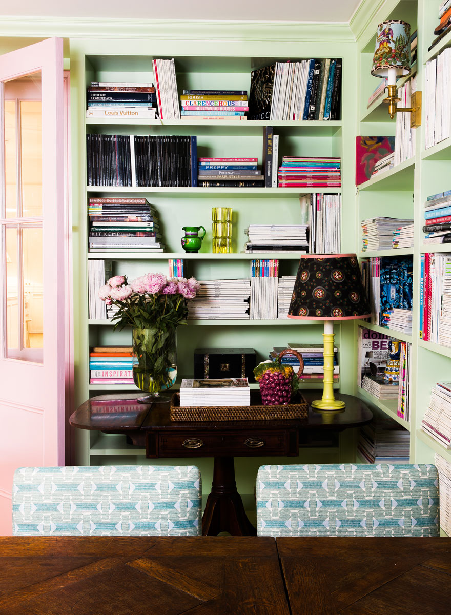 Décor: Interior Designer Anna Spiro's Colourful New Office