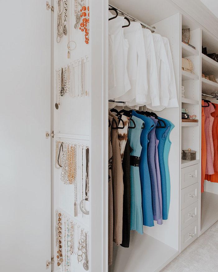 Organise | A Beautiful Walk-In Closet in Pelham, New York by Rajni Alex Design