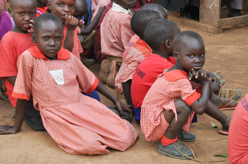 Children from one of four schools KRMA children attend and we visit each year
