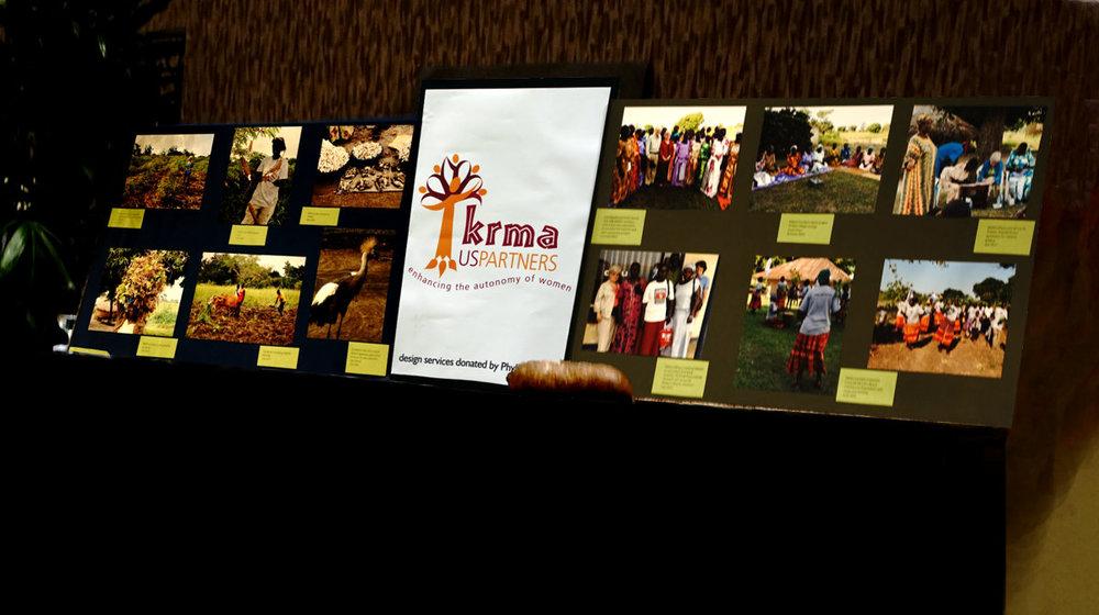 KRMA-US Partners' display at ARCOA.