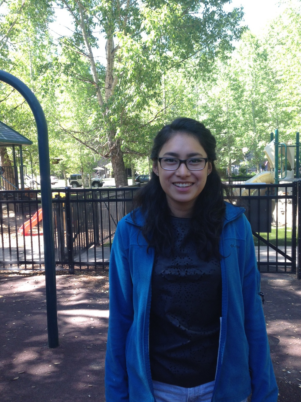 Hi! My name is Evelyn Dominguez. I was born in California but I've lived in Colorado for most of my life. So far I've been working at the Early Learning Center for the whirl week of July and I love it. It's extremely fun watching every kid learn and grow.