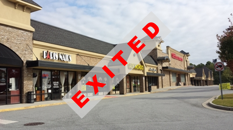 Equity Investment  68,400 SF Retail Center  Suwanee, GA