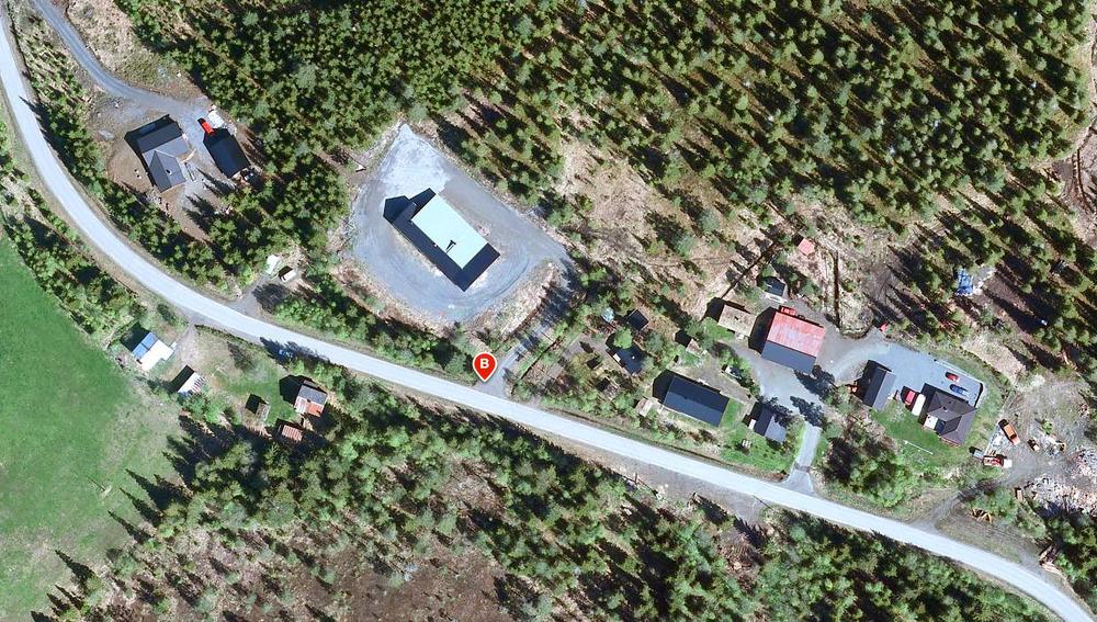 Nordhauka forsamlingshus (Kilde: Gule Sider)
