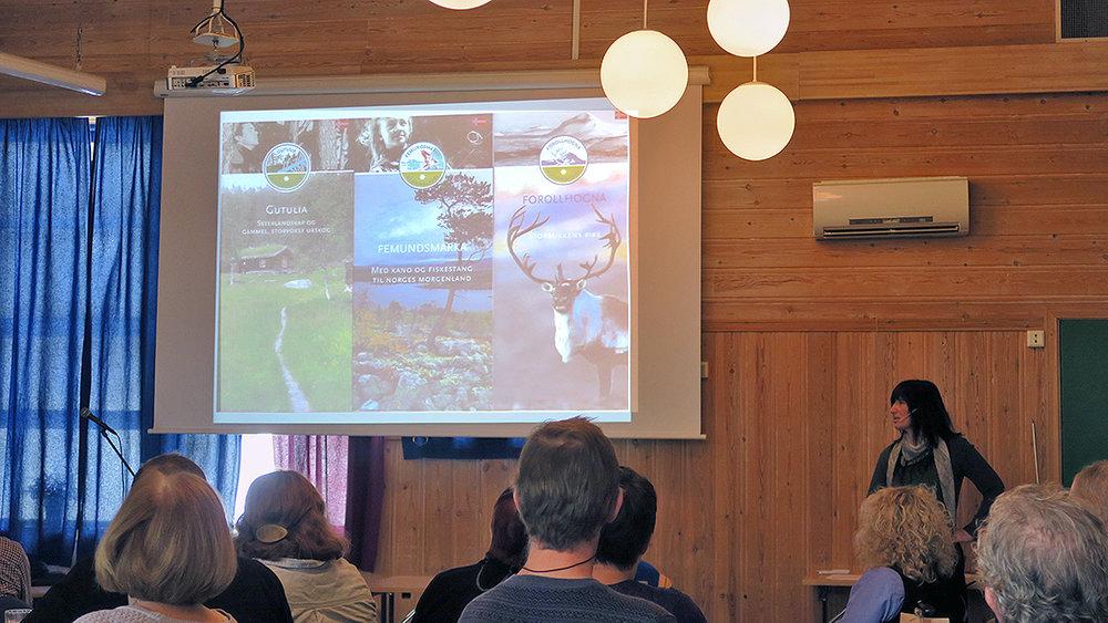 """Forollhogna nasjonalpark markedsføres i dag som """"storbukkens rike"""". Dette fokuset må endres, mener nasjonalparkforvalter Astrid Alice Haug."""