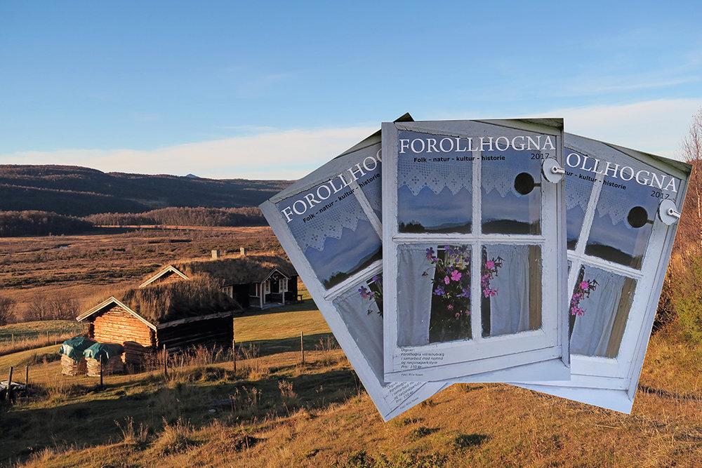 """""""Forollhogna 2017"""" har kommet fra trykkeriet og legges nå ut for salg i samtlige Hogna-kommuner. Illustrasjonsfoto: Arne Nyaas"""