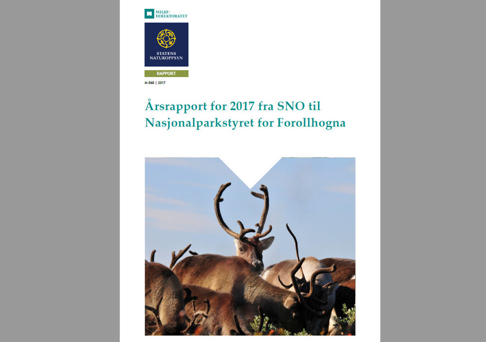 Last ned 2017-rapporten fra Statens naturoppsyn (SNO), trykk på linken under.