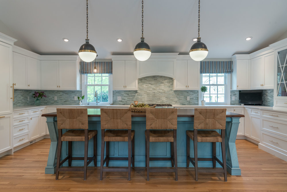 Kitchen renovation in Scituate.