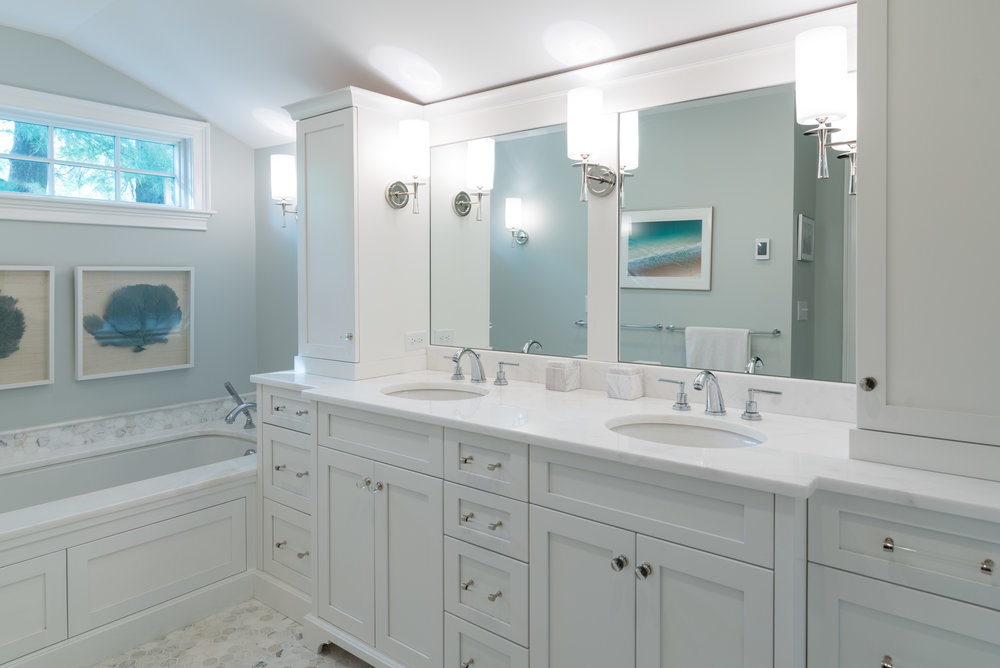 Bath renovation in Scituate.