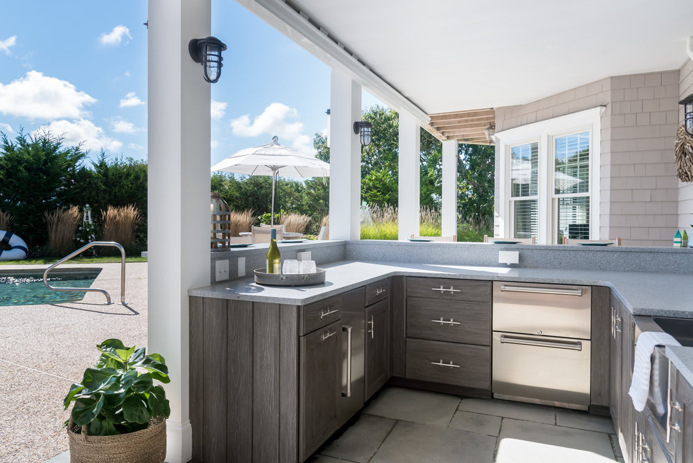 Outdoor Kitchen in West Barnstable.