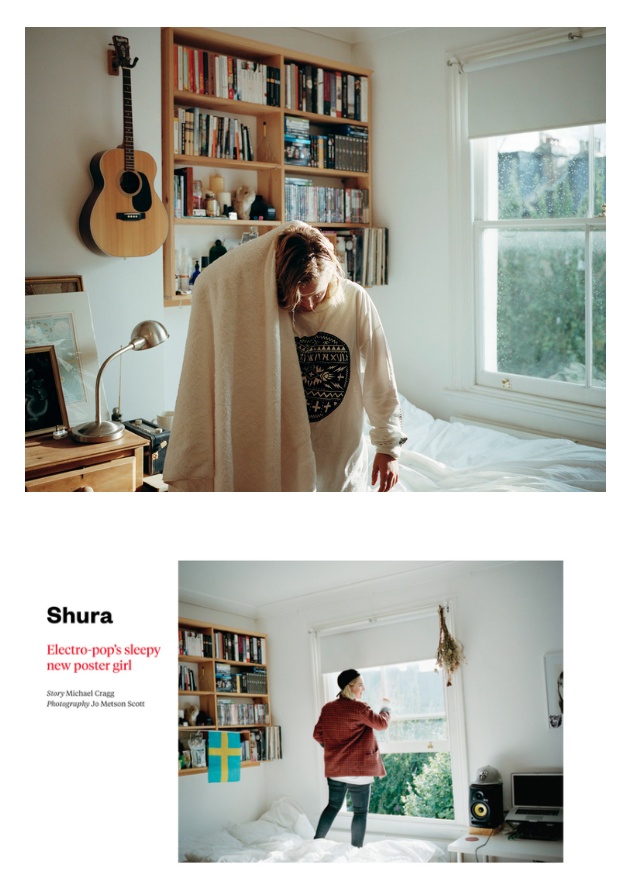 Shura For Fader Magzine. One Rainy Day In August.