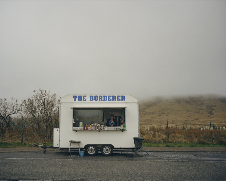 The Borderland www.theborderland.co.uk is a project I have been working on with writer Sarah Seay. We have been doing a series of road trips along the English side of the border with Scotland. Looking at the lives of those living so close to Scotland in the run up to the vote on Scottish independence.