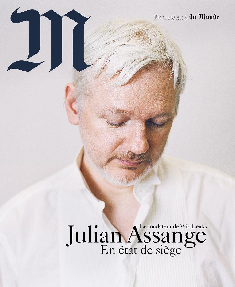 Le Monde - Julian Assange