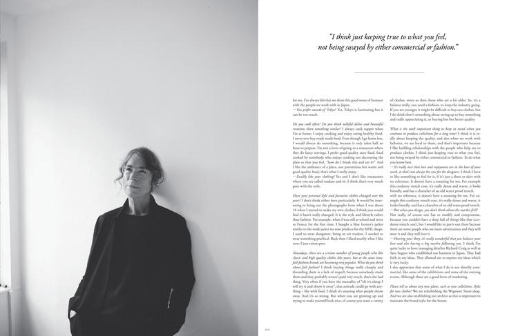 Margret Howell For Union Magazine