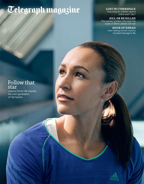 Telegraph Magazine - Jessica Ennis Hill