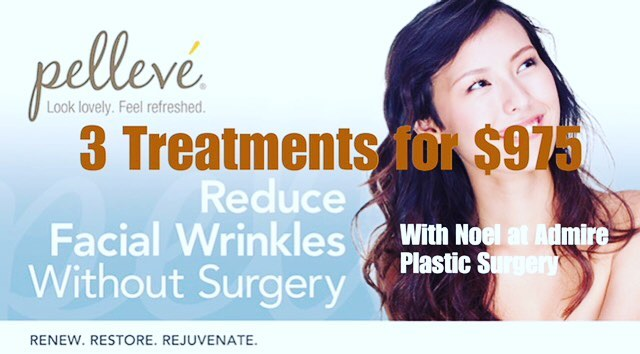 November Special with Noel @dranthonyadmire! Pelleve is a highly effective (FDA approved), radio-frequency skin tightening treatment. It is ideal for difficult to treat eye areas and hard to treat lipstick lines on the top lip. The jowls and neck are also responsive to this treatment! #pelleve #lasertherapy #esthtician #scottsdale #fountainofyouth