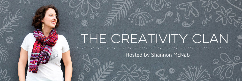 The Creativity Clan, a private FB group for designers and small business creatives hosted by Shannon McNab
