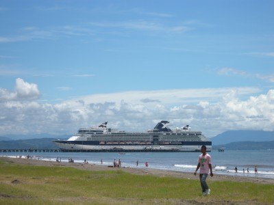The tourist ferry