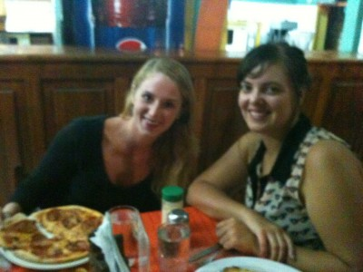 Pizza nite in Puntarenas