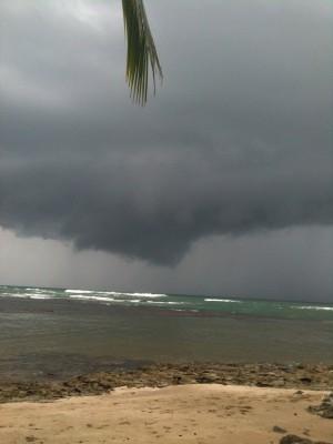 Puerto Viejo town beach