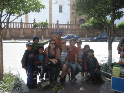 Project: Help the working children of Sucre